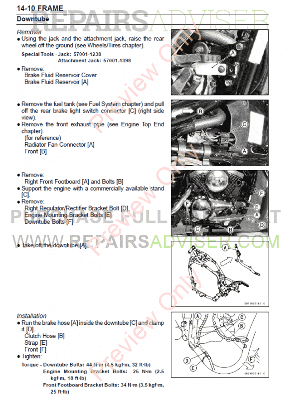 Service Manual Ram 1500 Vulcan
