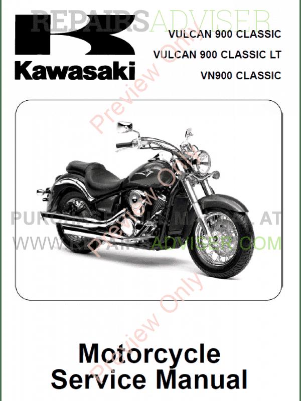 kawasaki vulcan 900 classic vulcan 900 classic lt vn 900. Black Bedroom Furniture Sets. Home Design Ideas