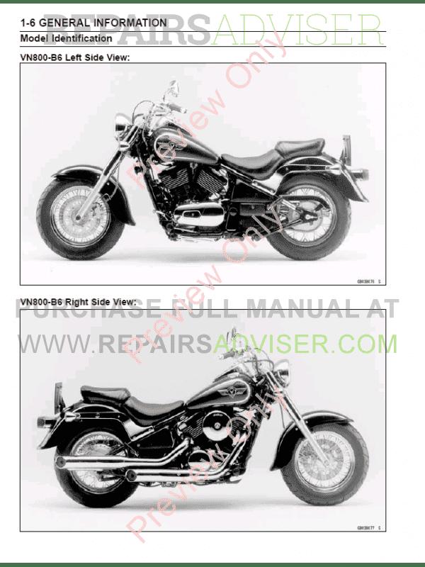 Kawasaki Vulcan Repair Manual Download