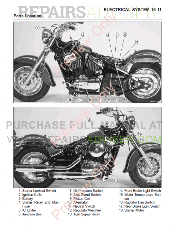 kawasaki vulcan800 vn800 classic motorcycle service manual. Black Bedroom Furniture Sets. Home Design Ideas