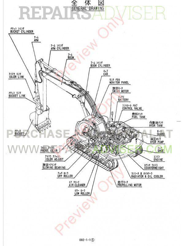 Shop Manual sk200 1