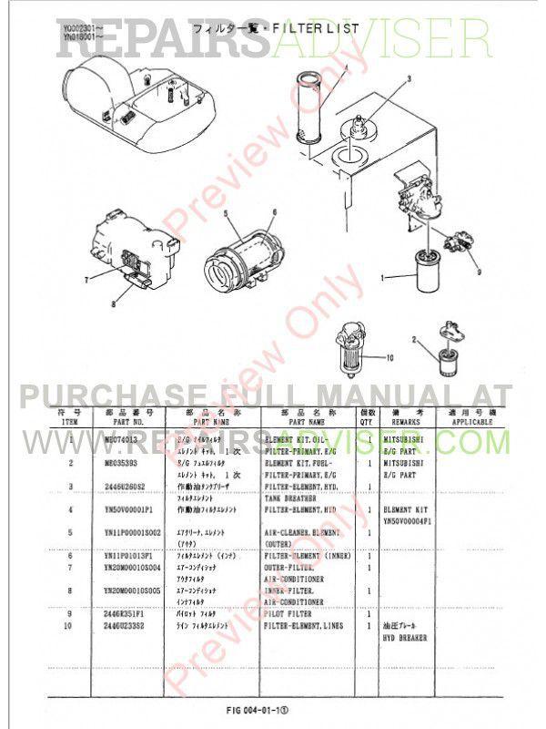 Download Kobelco SK200(LC) Mark V Hydraulic Excavator PM