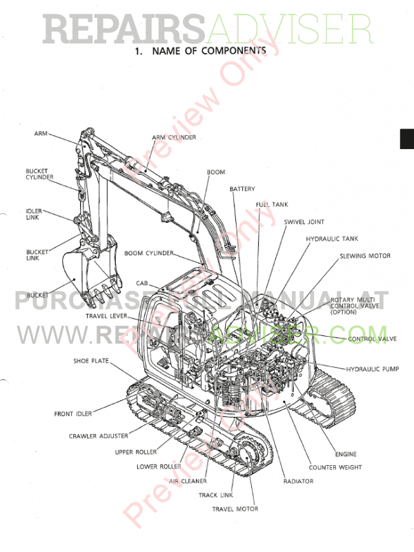 kobelco sk70sr hydraulic excavator shop manual pdf download