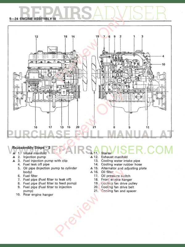 kobelco sk70sr hydraulic excavator shop manual pdf download