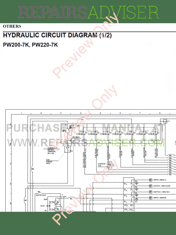 Komatsu Pc 120 Wiring Schematics - Wiring Diagrams ROCK