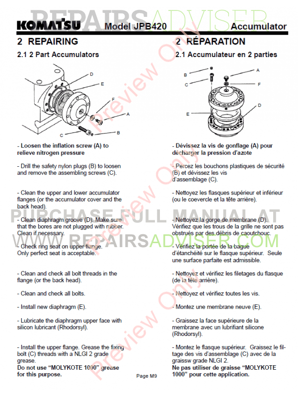 Hydraulic breaker Operation manual