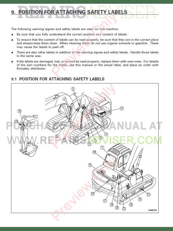 Komatsu Wiring Schematic Pc 6 - Wiring Diagram Update on