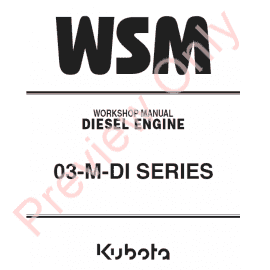 Sensational Kubota 03 M Di Series Diesel Engine Workshop Manual 9Y011 02153 Pdf Wiring Digital Resources Arguphilshebarightsorg