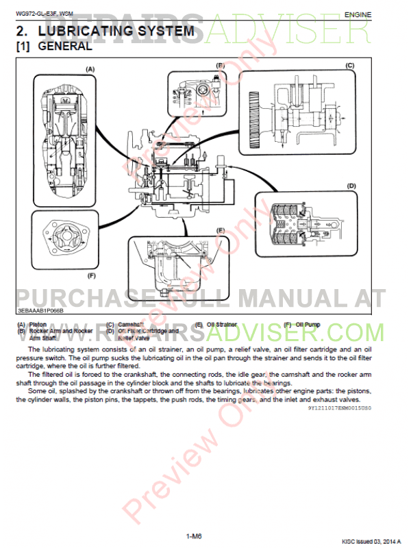 kubota wg972-gl-e3f gasoline, lpg engine workshop manual 9y111-10170 pdf