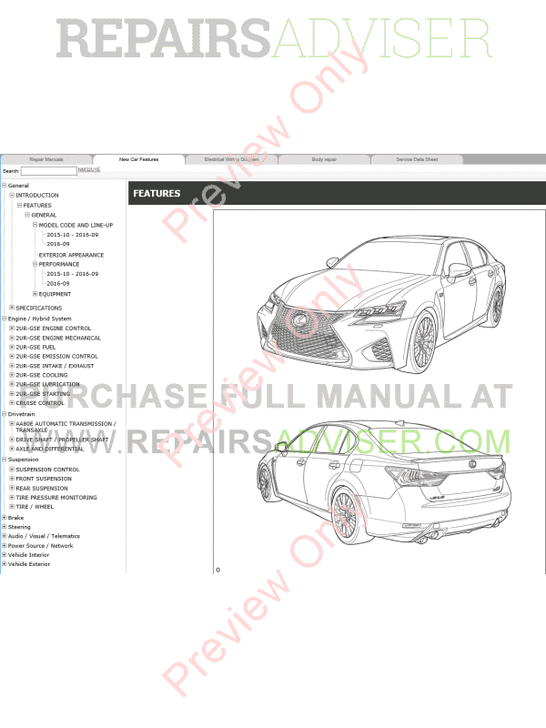 lexus gs f repair manual 10 2015 download
