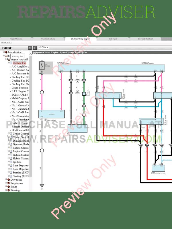 lexus is300h repair manual (04/2013), manuals for cars by www