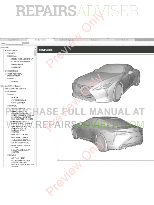 ls430 repair manual