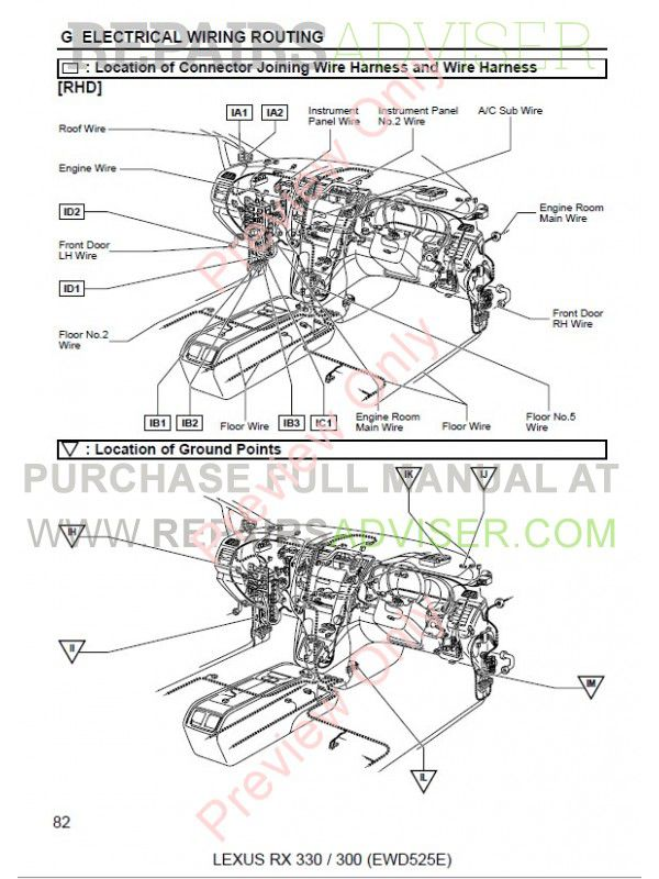 Lexus Rx300 Wiring Diagram Door - Wiring Diagrams List