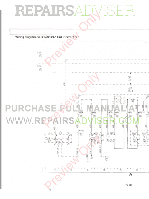 Electrical Wiring Diagrams For Man Tga : Man electrical system trucknology generation a tg