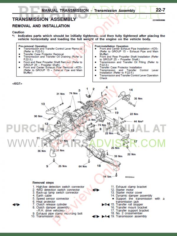 1999 montero owners manual pdf downloa  service manual pdf