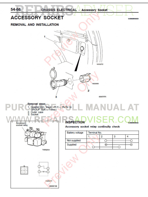 Mitsubishi Challenger  Montero  Pajero Sport Workshop Manual Pdf Download