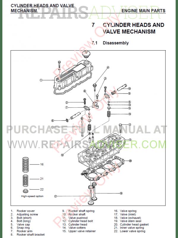 Mitsubishi Ke130 engine Manual