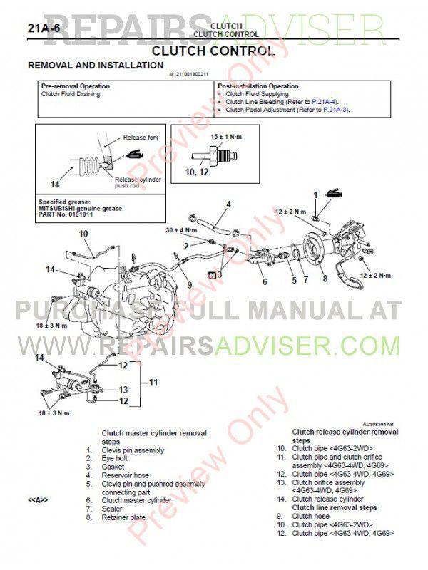Mitsubishi Outlander 2003 Workshop Service Manual Repair Manual Order U0026 Download Wiring Diagram