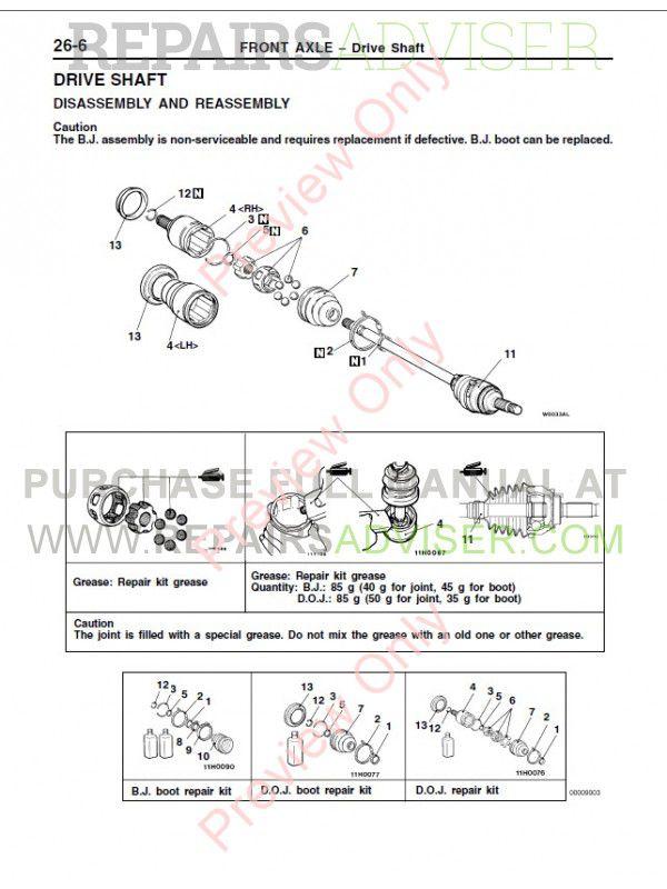 mitsubishi pajero pinin workshop manuals pdf download Maserati Pininfarina mitsubishi pajero pinin service manual