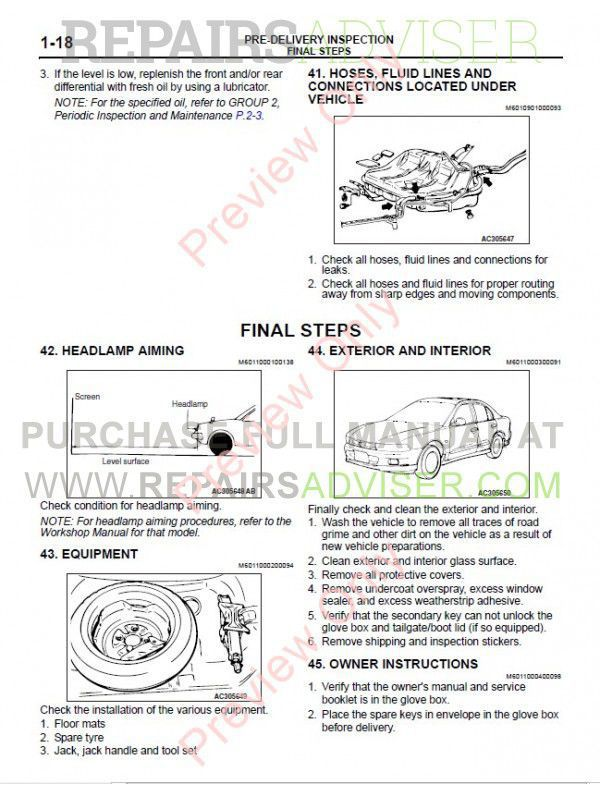 mitsubishi triton 2006 2013 workshop service manual pdf