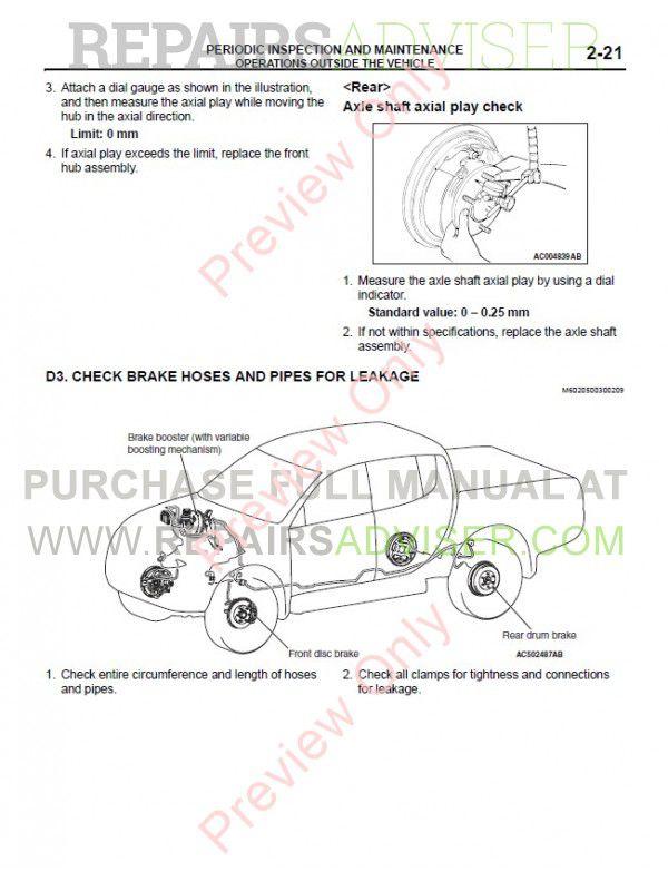 Vento Triton 2007 Service manual on