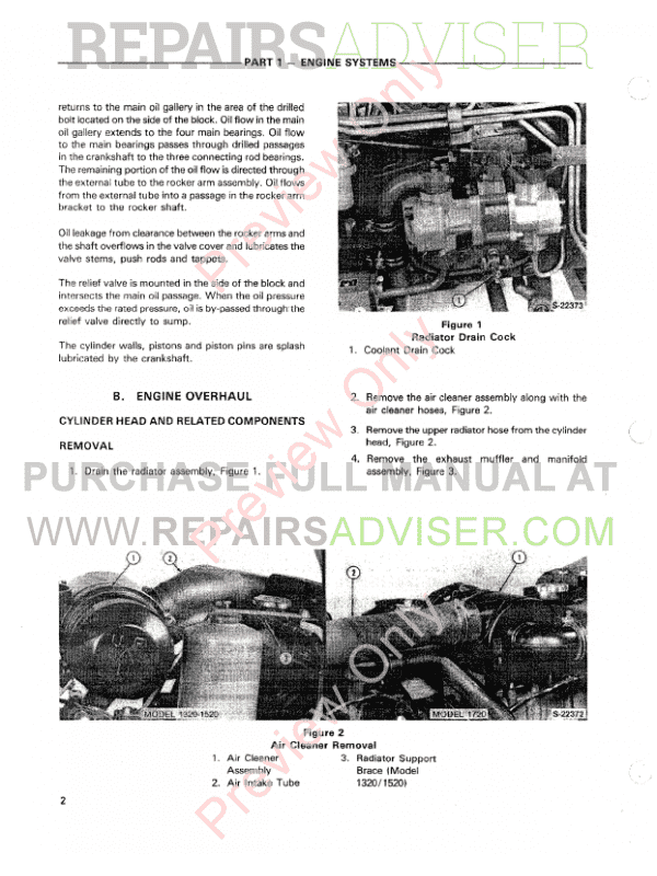 new holland ford 1320, 1520 and 1720 tractors repair manual on new  holland 1720 parts ford 1720 tractor wiring diagram