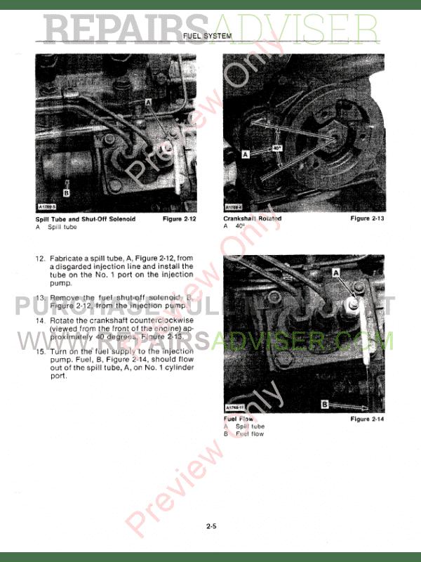 tractor repair manuals pdf
