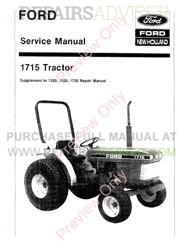 1715 ford tractor wiring diagram trusted wiring diagrams rh hamze co Ford Tractor 12V Wiring Diagram Ford Tractor Electrical Wiring Diagram