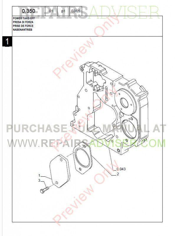 New Holland Kobelco LB95 B Backhoe Loader Parts Catalog PDF