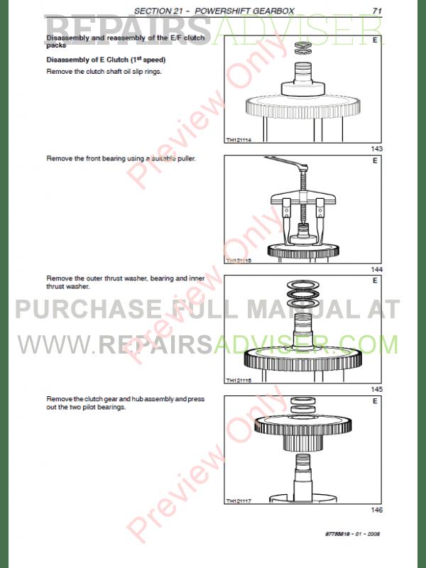 New Holland LM1330, LM1333 Telehlanders Workshop Manual PDF