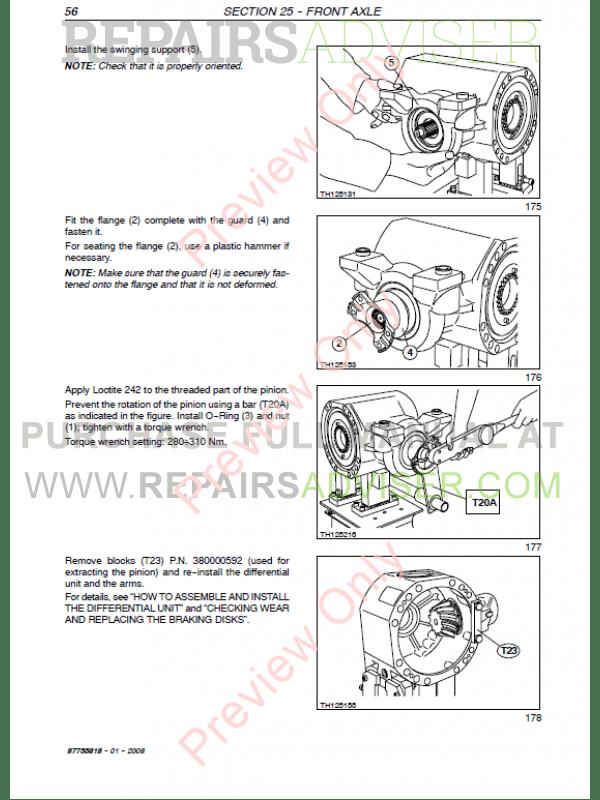 New Holland Lm1330  Lm1333 Telehlanders Workshop Manual