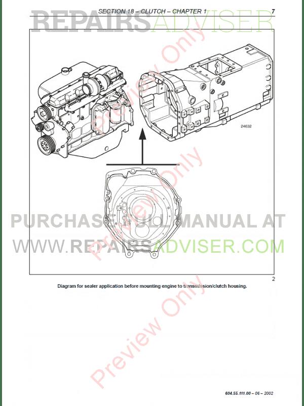New Holland TM120-TM190 Tractors Workshop Manual PDF Download on