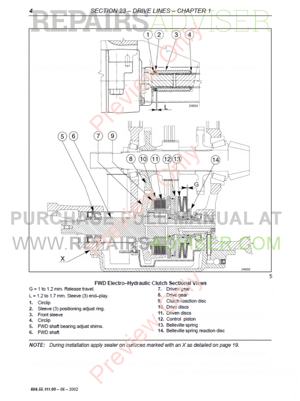 New Holland TM120-TM190 Tractors Workshop Manual PDF Download on