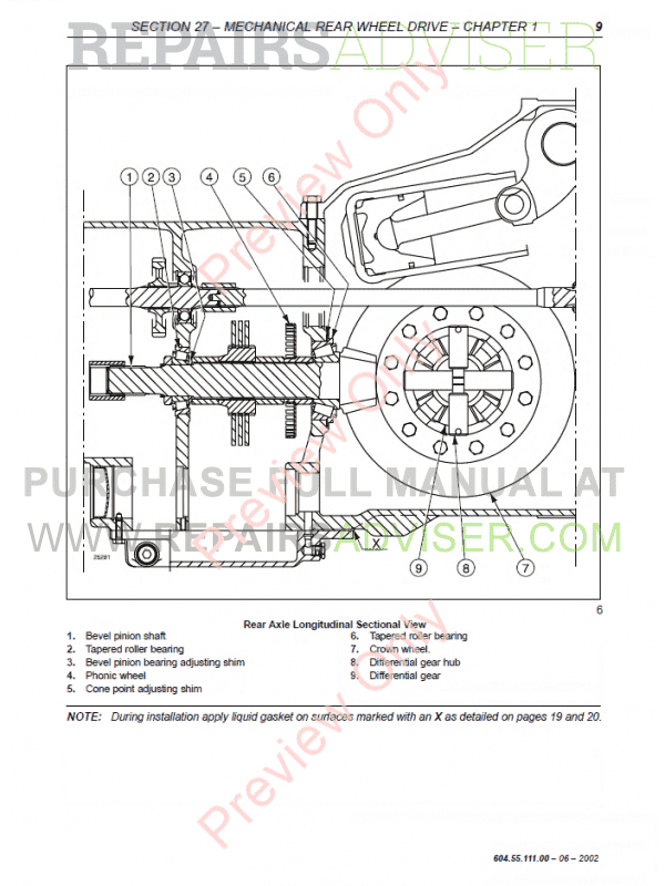 New Holland TM120-TM190 Tractors Workshop Manual PDF Download