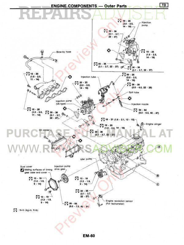 nissan illustrated parts catalog