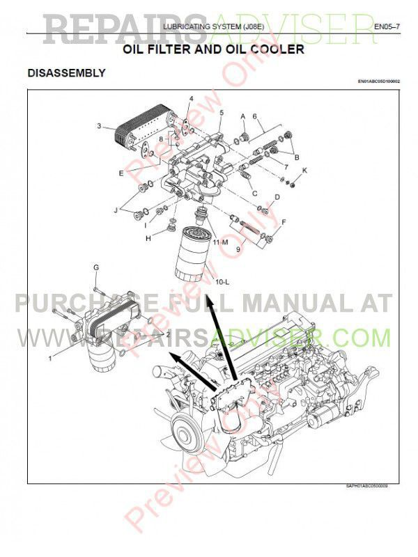 Nissan Ud Trucks 4 2 Forward Control 2005 2006 2007 Service Manual