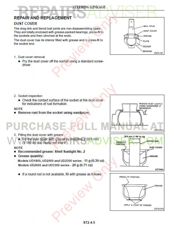 Ud nissan service manual