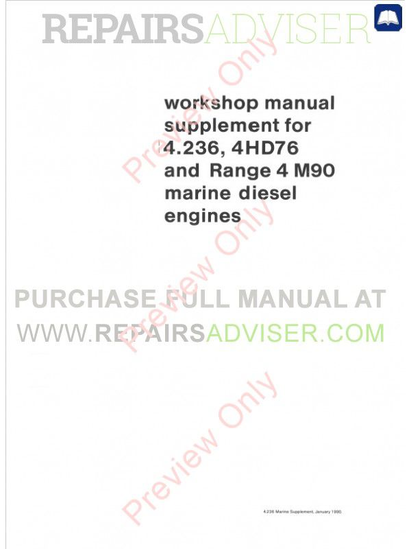 Perkins 4 248 Parts Manual