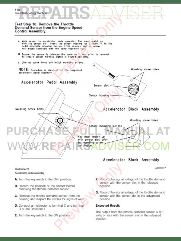 Perkins 1104 service manual