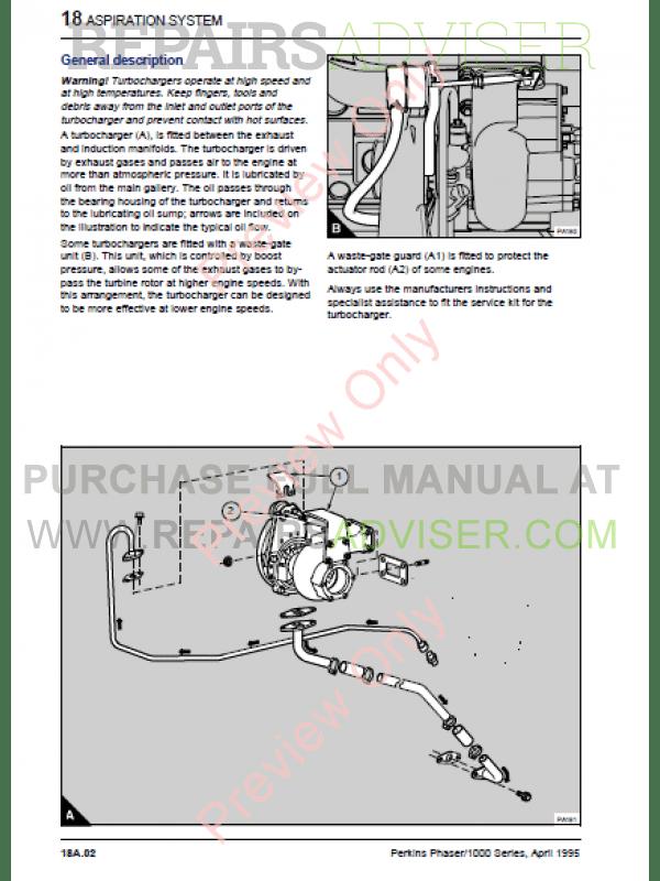 Perkins 1000 Series Engine Manual