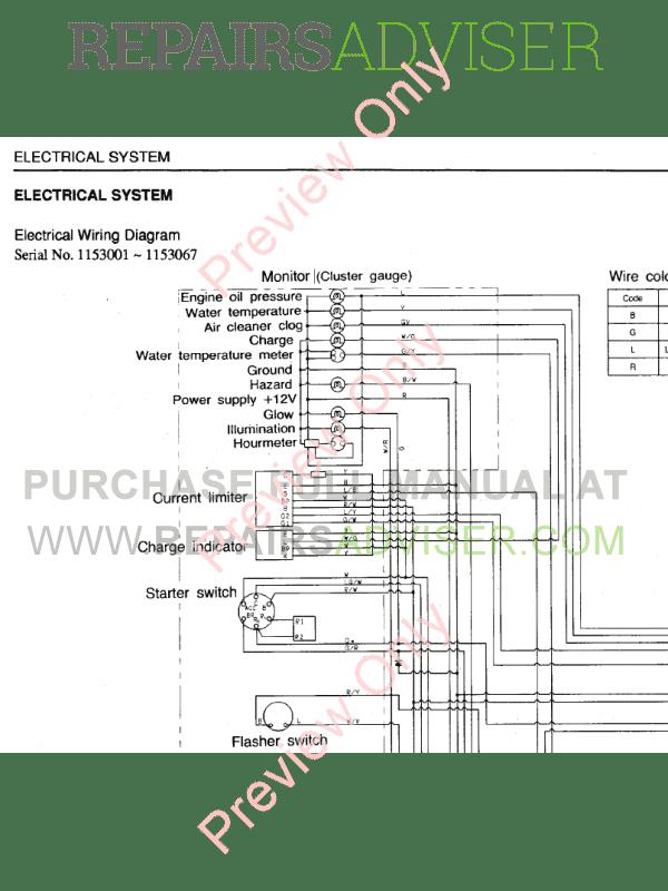 Takeuchi Excavator TB 015 PDF Workshop Manual