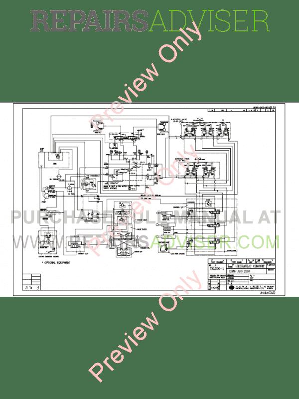 Excellent Terex Excavators Txc Txl Hydraulic Electrical Schematics Pdf Download Wiring Cloud Hisredienstapotheekhoekschewaardnl