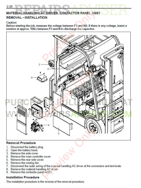 toyota forklifts 7 fbe13, 7 fbef13-20 series manual pdf, manuals for  trucks