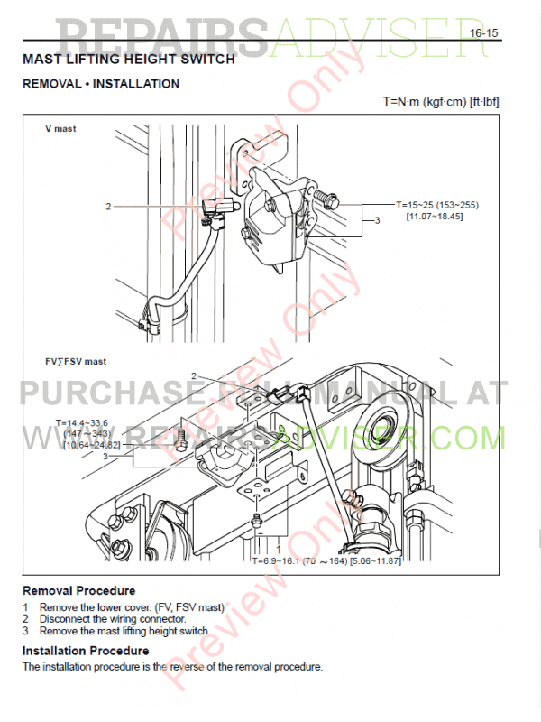Toyota 7 Series Fork Lift Wiring Diagram Fuse Box. Toyota Forklifts 7 Fbe13 Fbef1320 Series Manual Pdf Download On. Toyota. Toyota Forklift Wiring Diagram 20 At Scoala.co