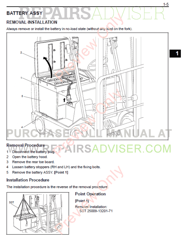 Download Manual for toyota forklift