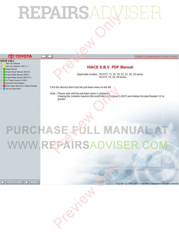 car bodywork repair manual pdf