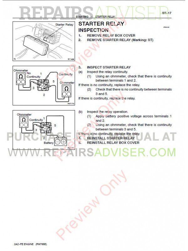 Previa Repair manual Pdf