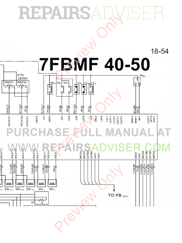 electric forklift wiring diagram pdf