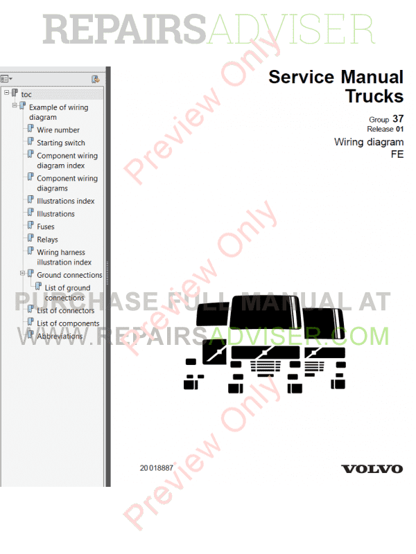 Volvo Trucks Fe Wiring Diagram Service Manuals Pdf X on John Deere Schematic Wiring Diagram