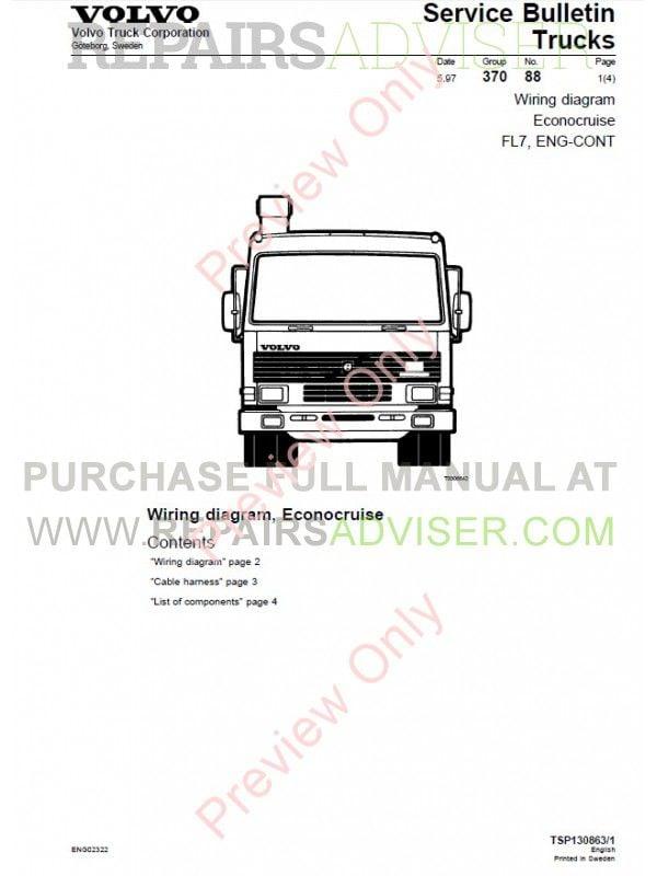 Volvo Truck Wiring Diagram from www.repairsadviser.com